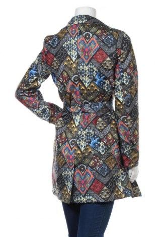 Дамско палто Naoko, Размер S, Цвят Многоцветен, 70% вълна, 20% полиестер, 10% кашмир, Цена 119,25лв.