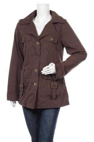 Γυναικείο παλτό New View, Μέγεθος M, Χρώμα Καφέ, 70% βαμβάκι, 30% πολυαμίδη, Τιμή 9,86€