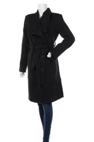 Дамско палто Noppies, Размер L, Цвят Черен, 97% полиестер, 3% еластан, Цена 71,82лв.