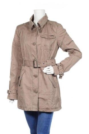 Дамско палто ONLY, Размер L, Цвят Кафяв, Памук, Цена 10,50лв.