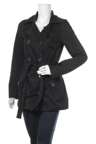 Дамски шлифер ONLY, Размер S, Цвят Черен, 65% полиестер, 35% памук, Цена 26,46лв.
