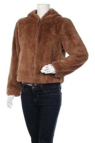Дамско палто ONLY, Размер M, Цвят Кафяв, Полиестер, Цена 33,82лв.