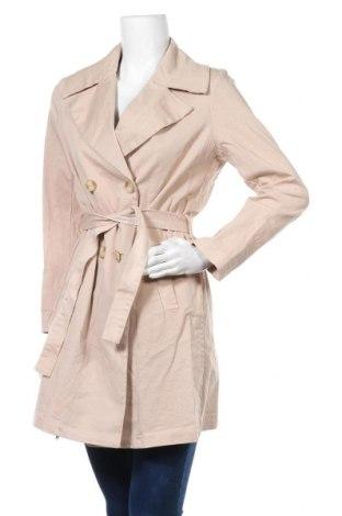 Дамско палто Please, Размер M, Цвят Бежов, 97% памук, 3% еластан, Цена 94,15лв.