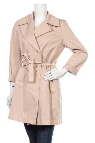 Дамско палто Please, Размер L, Цвят Бежов, 97% памук, 3% еластан, Цена 116,55лв.