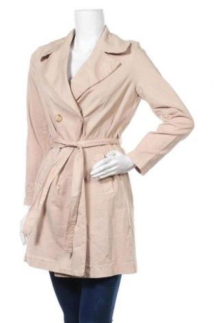Дамско палто Please, Размер S, Цвят Бежов, 97% памук, 3% еластан, Цена 94,15лв.