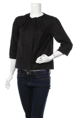Дамско палто Sussan, Размер S, Цвят Черен, Памук, еластан, Цена 14,11лв.