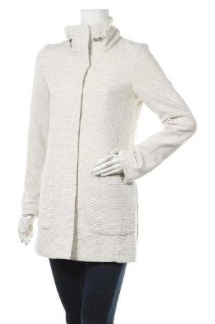 Дамско палто Tom Tailor, Размер S, Цвят Сив, 76% полиестер, 22% вискоза, 2% еластан, Цена 47,04лв.