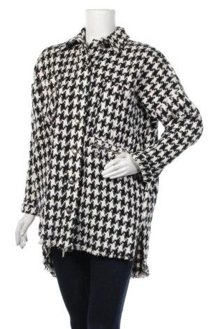 Дамско палто Trendyol, Размер S, Цвят Бял, 50% полиестер, 30% акрил, 20% памук, Цена 66,75лв.