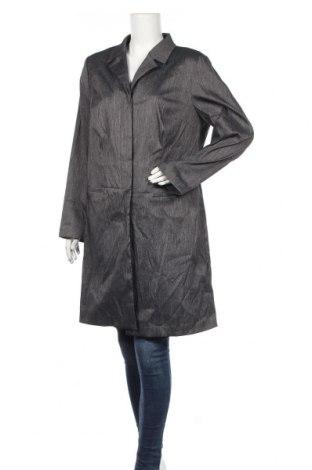 Дамско палто Venezia, Размер L, Цвят Сив, 68% полиестер, 27% полиамид, 5% еластан, Цена 14,18лв.