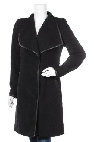 Дамско палто Vero Moda, Размер M, Цвят Черен, 56% полиестер, 35% вълна, 5% акрил, 2% полиамид, 2% вискоза, Цена 96,75лв.