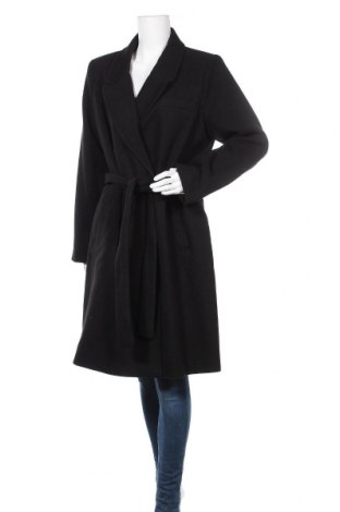 Дамско палто Vero Moda, Размер XL, Цвят Черен, 89% полиестер, 10% вискоза, 1% еластан, Цена 81,75лв.