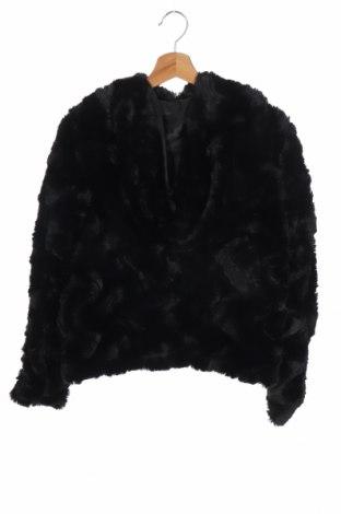 Дамско палто Vero Moda, Размер XS, Цвят Черен, Полиестер, Цена 54,00лв.
