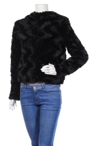 Дамско палто Vero Moda, Размер XS, Цвят Черен, Полиестер, Цена 50,37лв.