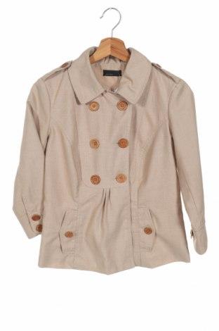 Дамско палто Vero Moda, Размер XS, Цвят Бежов, Цена 16,80лв.