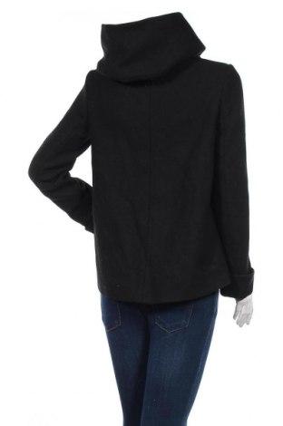 Дамско палто Zara, Размер S, Цвят Черен, 55% вълна, 29% полиестер, 16% полиамид, Цена 42,57лв.