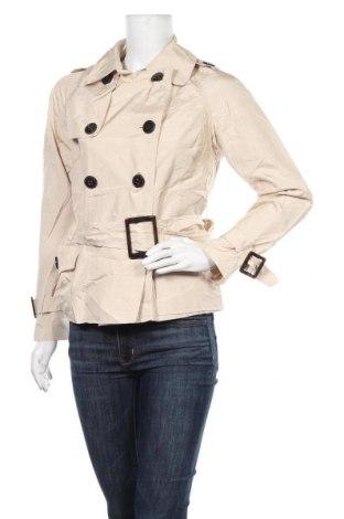 Дамски шлифер Zara, Размер L, Цвят Бежов, Цена 41,16лв.