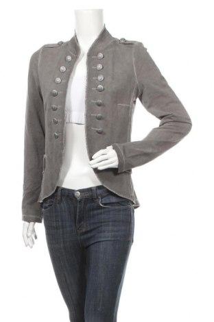 Дамско сако, Размер M, Цвят Сив, 95% памук, 5% еластан, Цена 25,52лв.