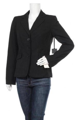 Дамско сако, Размер M, Цвят Черен, 37% вискоза, 35% полиестер, 25% вълна, 3% еластан, Цена 16,80лв.