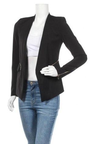 Дамско сако, Размер S, Цвят Черен, 50% полиестер, 50% полиамид, Цена 23,94лв.