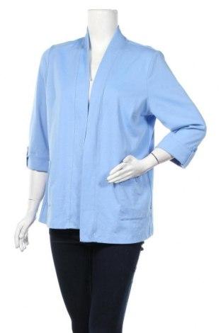 Γυναικείο σακάκι Alia, Μέγεθος M, Χρώμα Μπλέ, 75% πολυεστέρας, 19% βαμβάκι, 6% ελαστάνη, Τιμή 5,46€