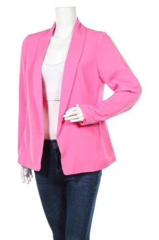 Дамско сако Amisu, Размер L, Цвят Розов, Полиестер, Цена 21,84лв.