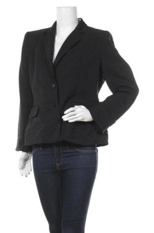 Дамско сако Anne Klein, Размер L, Цвят Черен, Полиестер, Цена 30,14лв.
