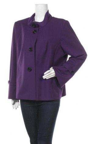 Дамско сако Betty Barclay, Размер XXL, Цвят Лилав, 73% полиестер, 20% вискоза, 7% еластан, Цена 97,65лв.