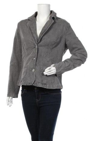 Дамско сако Bpc Bonprix Collection, Размер L, Цвят Сив, 98% памук, 2% еластан, Цена 13,86лв.