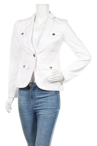 Дамско сако Calvin Klein, Размер M, Цвят Бял, 55% лен, 45% памук, Цена 74,66лв.