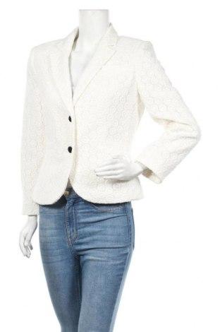 Дамско сако Calvin Klein, Размер M, Цвят Бял, 100% памук, Цена 82,95лв.