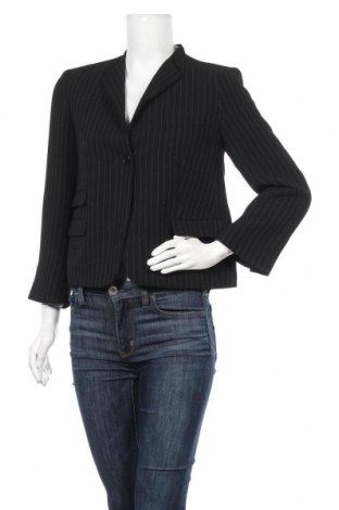 Дамско сако Calvin Klein, Размер S, Цвят Черен, 99% полиестер, 1% вискоза, Цена 73,82лв.