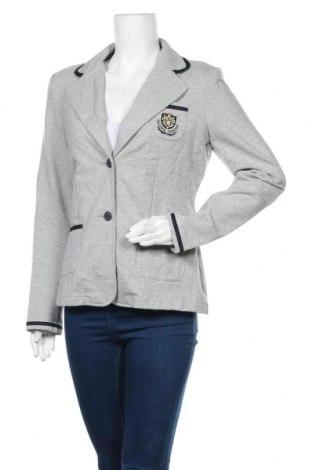 Дамско сако Cecilia Classics, Размер S, Цвят Сив, 95% памук, 5% еластан, Цена 22,84лв.