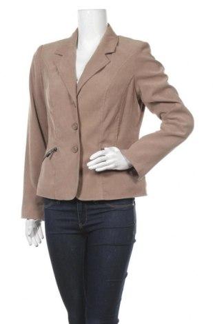 Дамско сако Charles Vogele, Размер M, Цвят Кафяв, Цена 21,26лв.