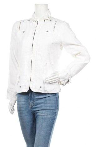 Дамско сако Desigual, Размер M, Цвят Бял, Рамия, Цена 68,83лв.