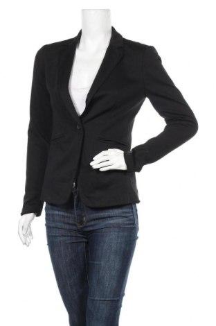 Дамско сако Forever 21, Размер S, Цвят Черен, 73% полиестер, 24% вискоза, 3% еластан, Цена 15,02лв.