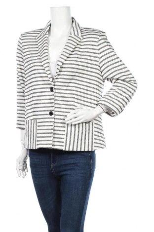 Дамско сако Fransa, Размер L, Цвят Бял, Памук, Цена 14,70лв.