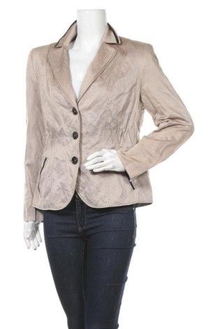 Дамско сако Gerry Weber, Размер L, Цвят Кафяв, Полиестер, Цена 31,61лв.