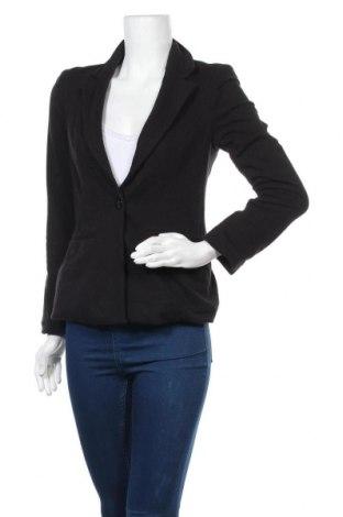 Дамско сако Guess, Размер S, Цвят Черен, 55% памук, 40% полиестер, 5% еластан, Цена 70,51лв.