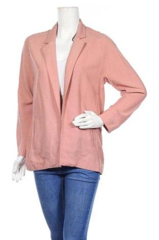 Дамско сако H&M, Размер S, Цвят Розов, 66% модал, 34% полиестер, Цена 6,30лв.