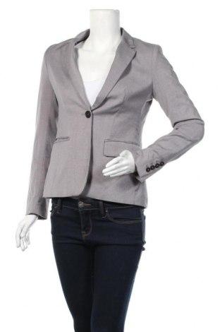 Дамско сако H&M, Размер M, Цвят Сив, 64% полиестер, 34% вискоза, 2% еластан, Цена 10,92лв.