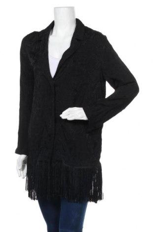 Дамско сако H&M, Размер S, Цвят Черен, Вискоза, Цена 16,28лв.
