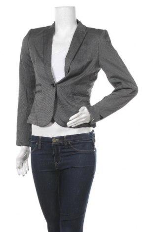 Дамско сако H&M, Размер S, Цвят Сив, 64% полиестер, 34% вискоза, 2% еластан, Цена 16,91лв.