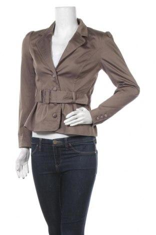 Дамско сако H&M, Размер M, Цвят Кафяв, 60% памук, 38% полиамид, 2% еластан, Цена 5,04лв.