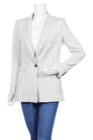 Дамско сако H&M, Размер M, Цвят Бял, 50% памук, 50% вискоза, Цена 23,63лв.