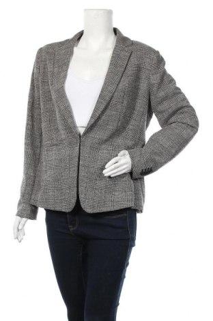 Дамско сако H&M, Размер XL, Цвят Черен, 58% вискоза, 39% полиестер, 3% еластан, Цена 17,01лв.