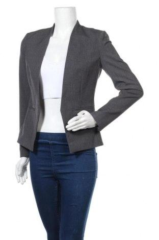 Дамско сако H&M, Размер S, Цвят Сив, 63% полиестер, 33% вискоза, 4% еластан, Цена 13,02лв.