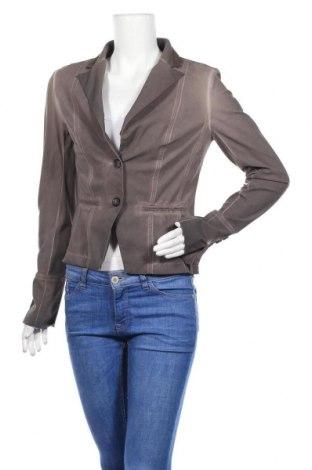 Дамско сако Jane Lushka, Размер M, Цвят Кафяв, 72% полиамид, 28% еластан, Цена 4,41лв.