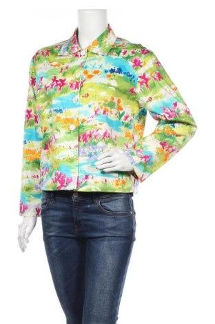 Дамско сако Maggy London, Размер M, Цвят Многоцветен, 97% памук, 3% еластан, Цена 32,34лв.
