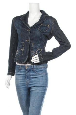 Дамско сако Mexx, Размер S, Цвят Син, 98% памук, 2% еластан, Цена 10,40лв.