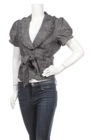 Дамско сако My Michelle, Размер L, Цвят Сив, 65% памук, 32% полиестер, 3% еластан, Цена 10,38лв.